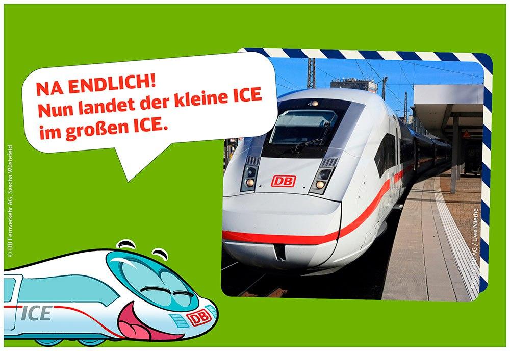 Station 4: 400 Mitarbeiter aus der Bordlogistik beladen den Zug mit den wichtigsten Waren: Spielfiguren, LeseLOK, miniLOK, Schokoriegel und, und, und.