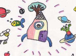 """""""Vielleicht kann irgendwann alles fliegen: die Tiere, Fahrzeuge, Menschen und die Pflanzen!"""" (Lucy, 10 Jahre)"""