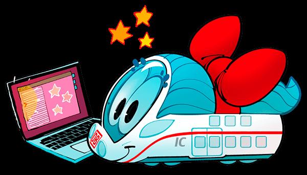 Ida IC mit einem Laptop