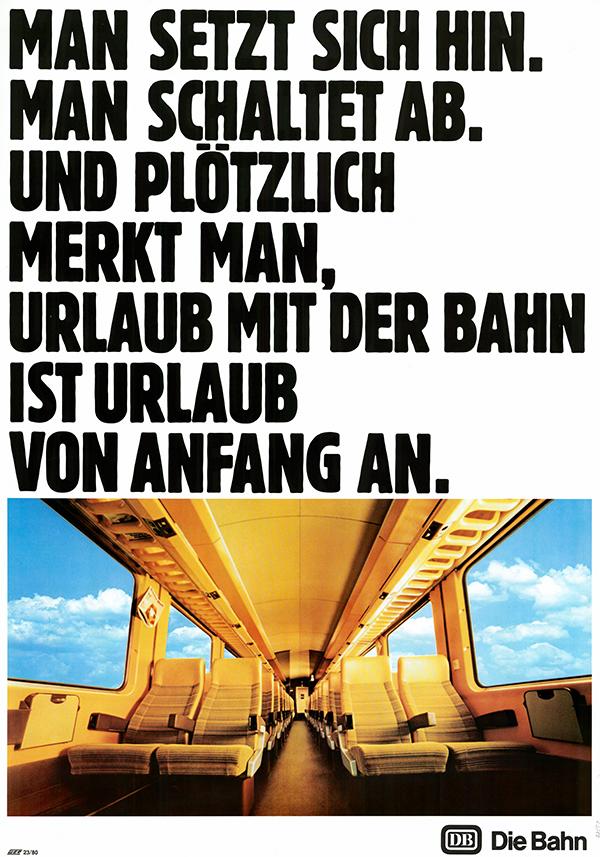Die 80er – Es wird bunt bei der Bahn /© Sammlung DB AG