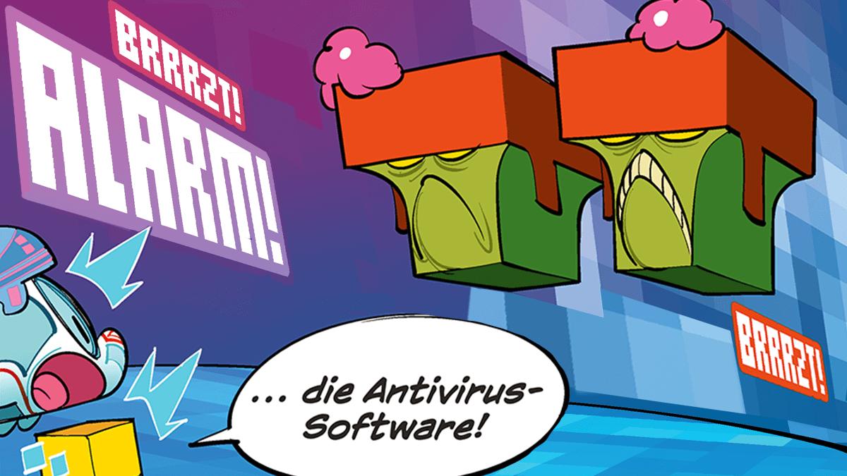 Comic: Der kleine ICE ... im digitalen Neuland