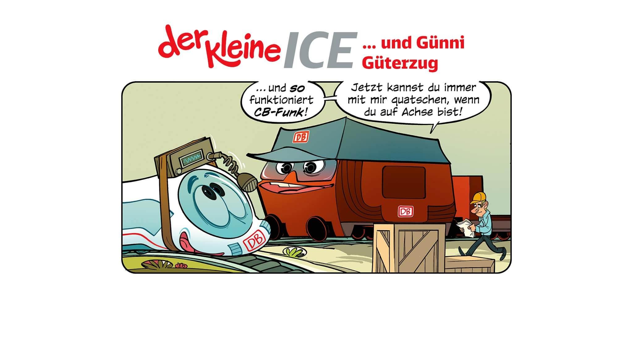 Der Kleine Ice Der Kleine Ice Und Günni Güterzug