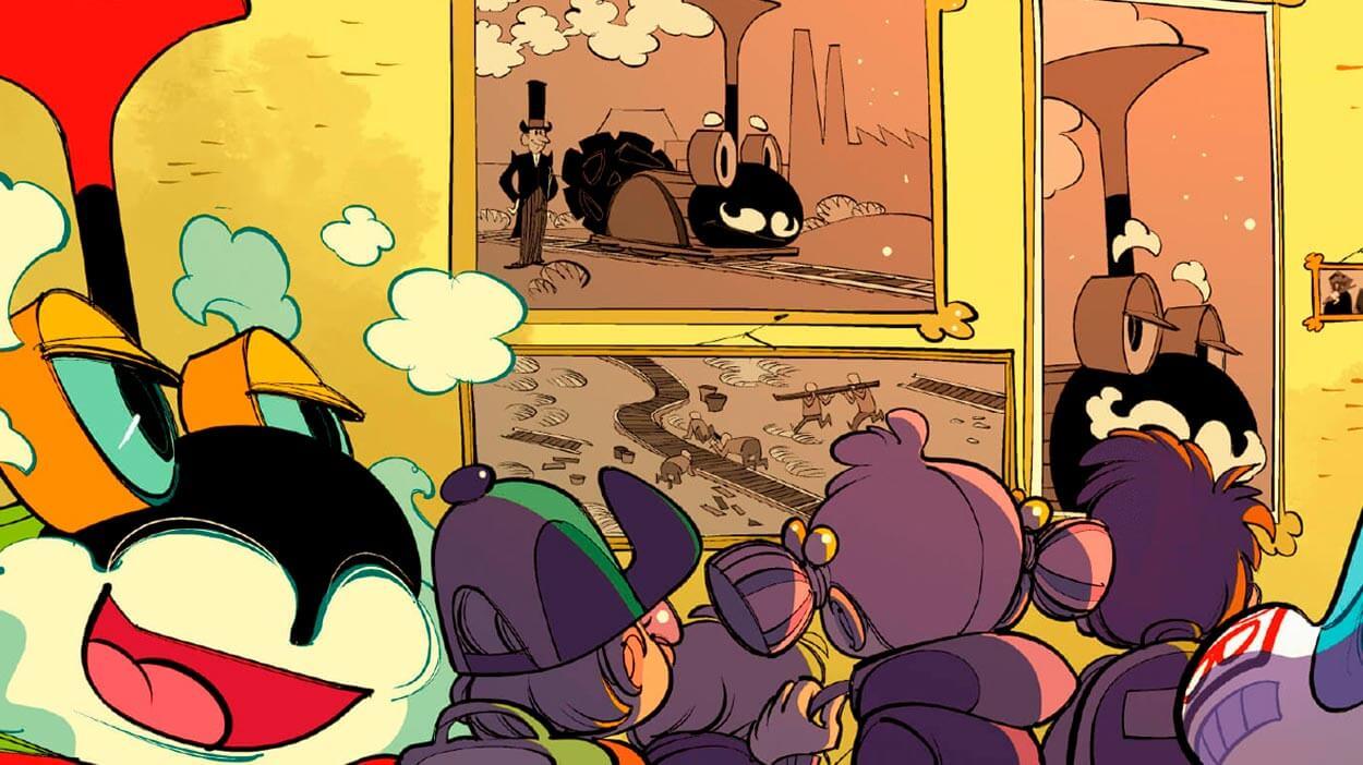 Teaserbild Comic Alte Freunde