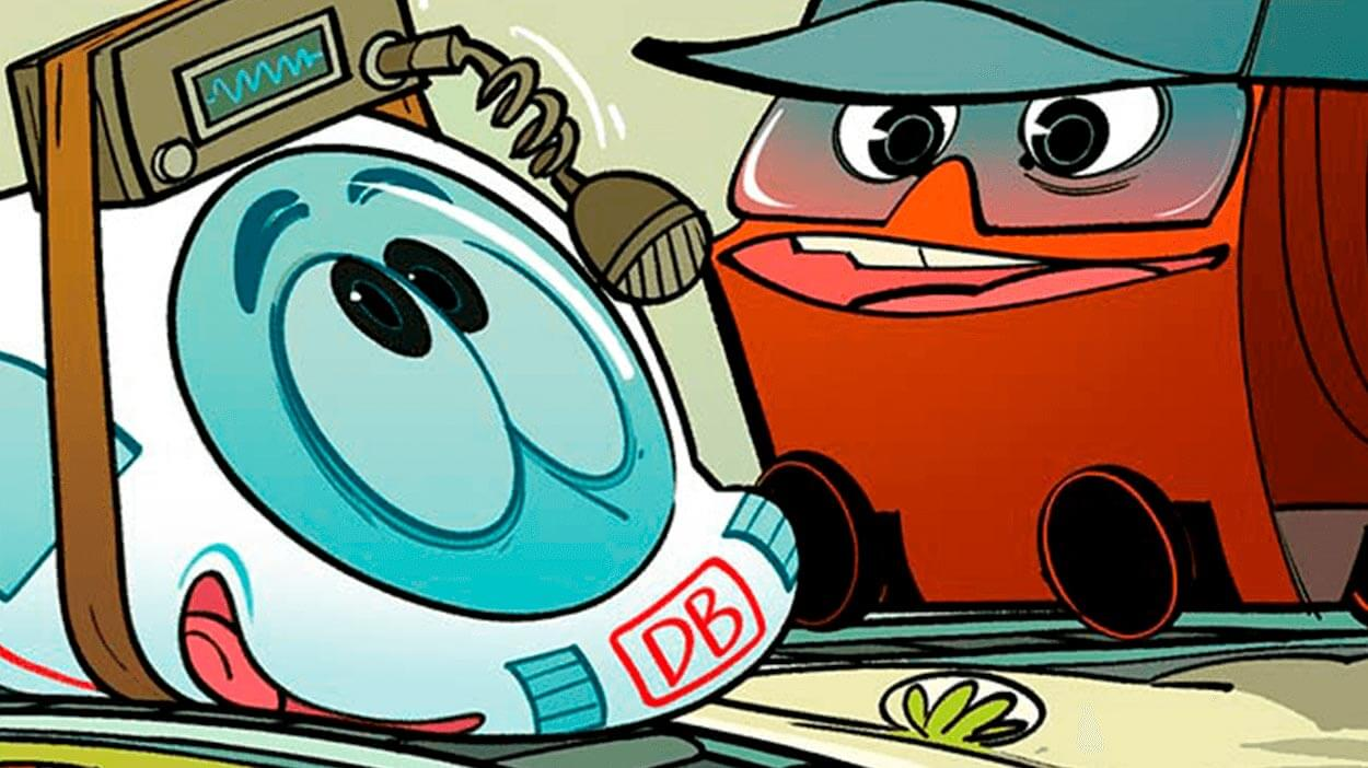 Teaserbild Comic Günni Güterzug