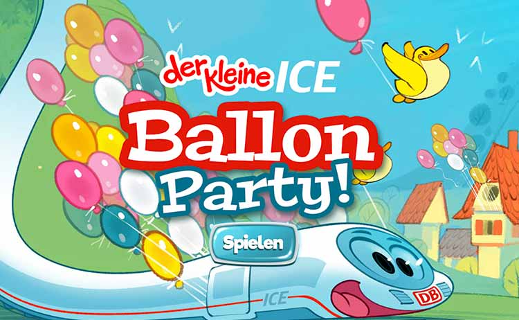 Screenshot Spiel Ballon Party