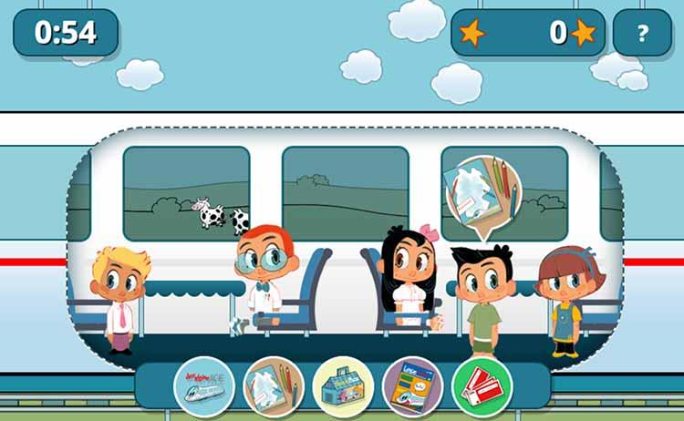 Screenshot Spiel Bedinen auf Schienen
