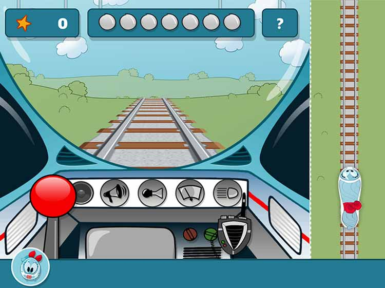 Screenshot Spiel Fahrsimulator