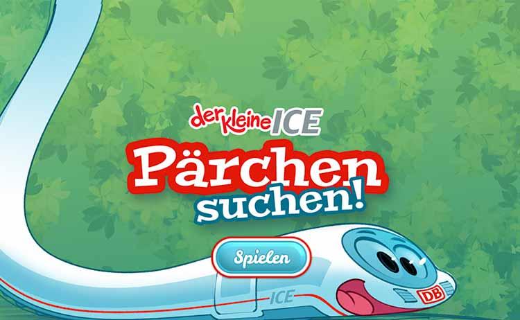 Screenshot Spiel Pärchen suchen