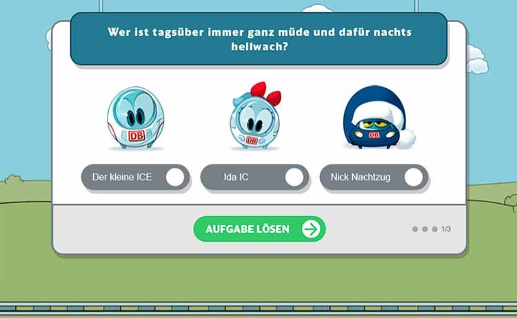 Screenshot Spiel Das spannende Quiz